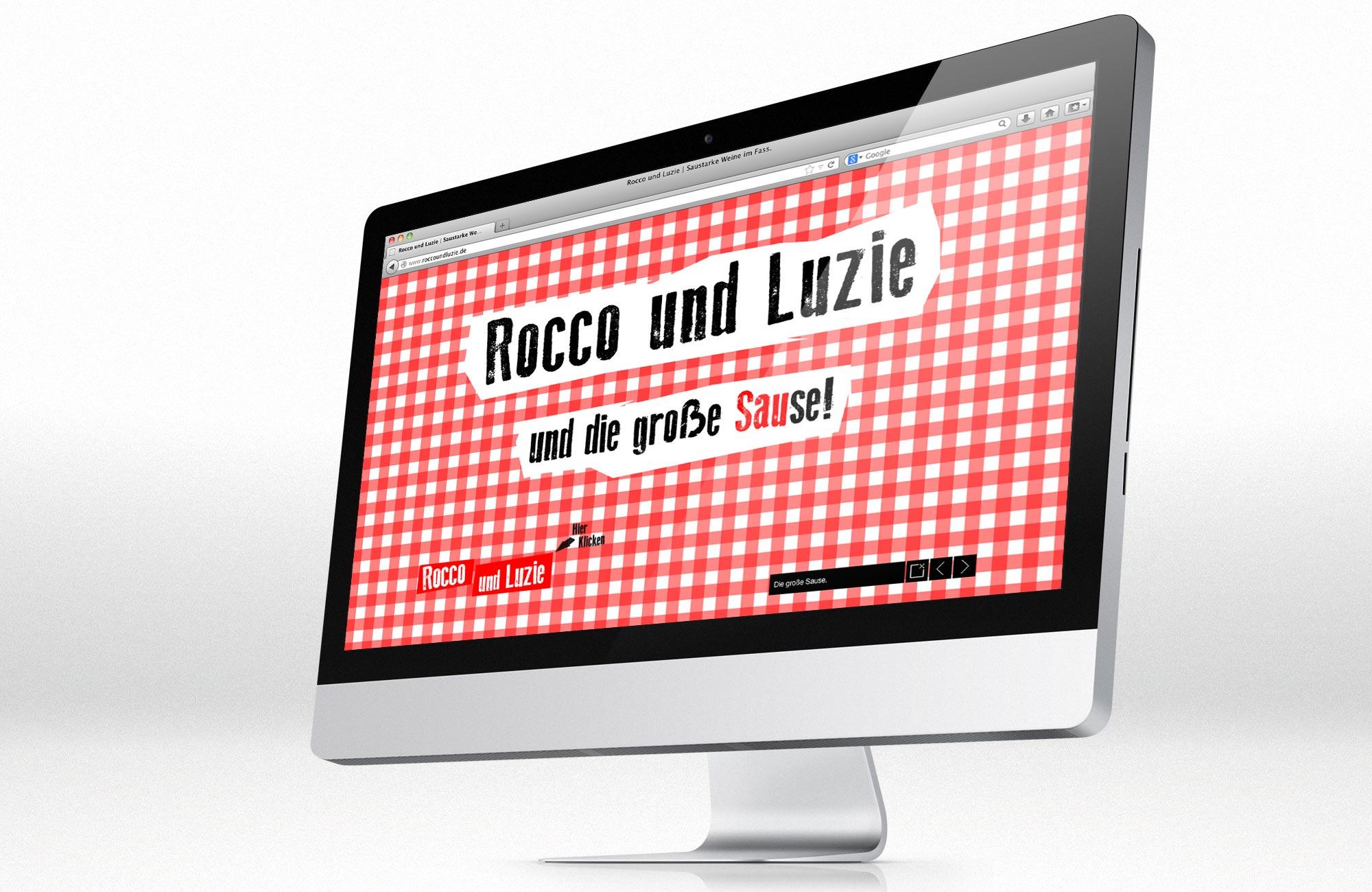Homepage Rocco und Luzie