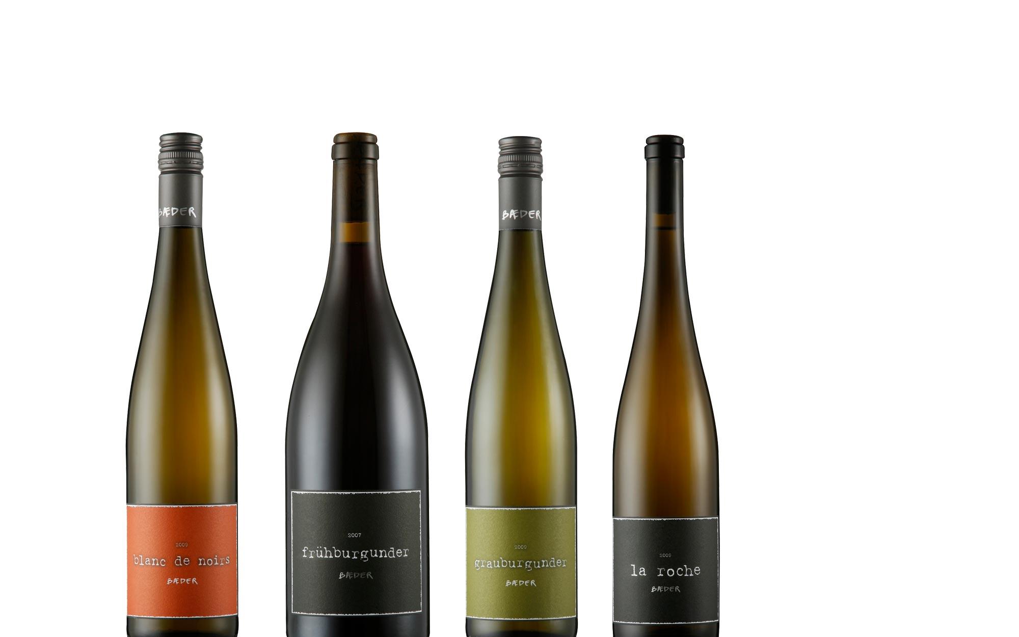 Weingut Baeder Etiketten