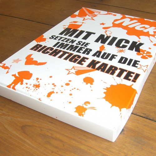 Mailing nickelodeon Schachtel