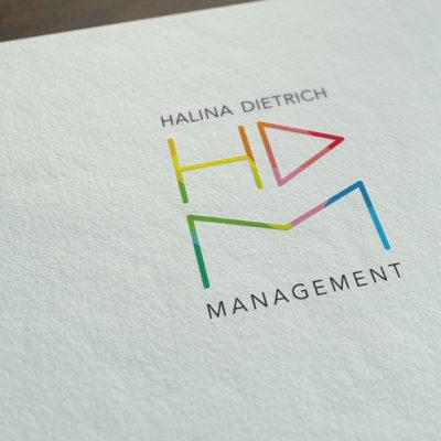 Halina Dietrich Management Logoentwicklung