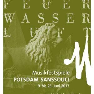 Musikfest Potsdam Sanssouci 2017 Imageplakat