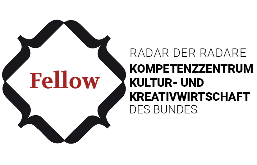 Logo Fellows des Kompetenzzentrums für Kultur- und Kreativwirtschaft