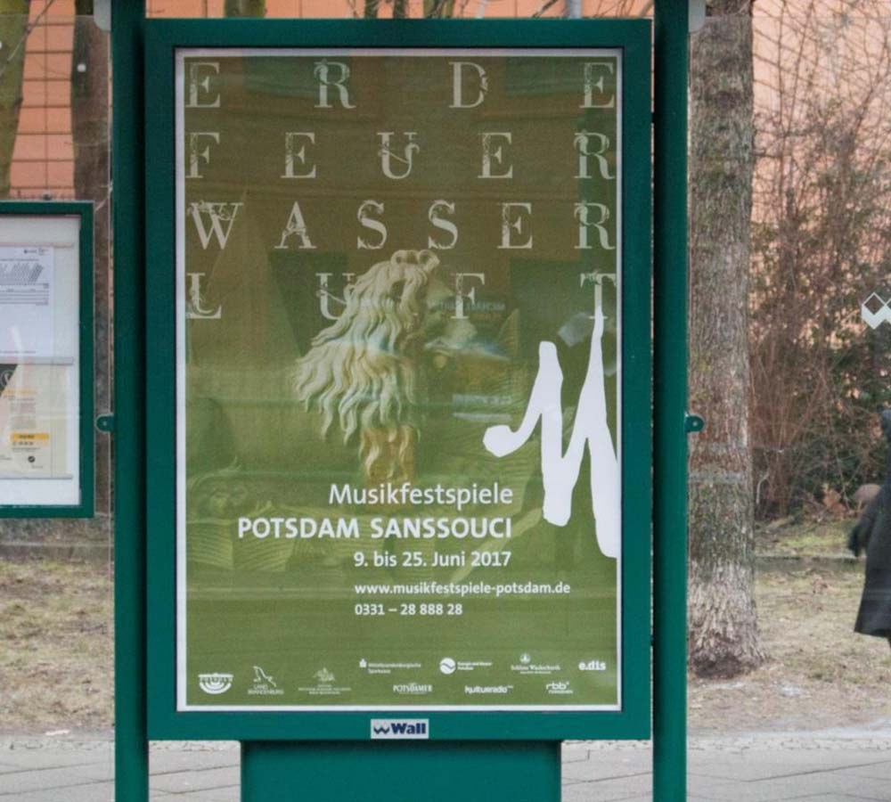 Musikfestspiele Potsdam Sanssouci Citylight Erde