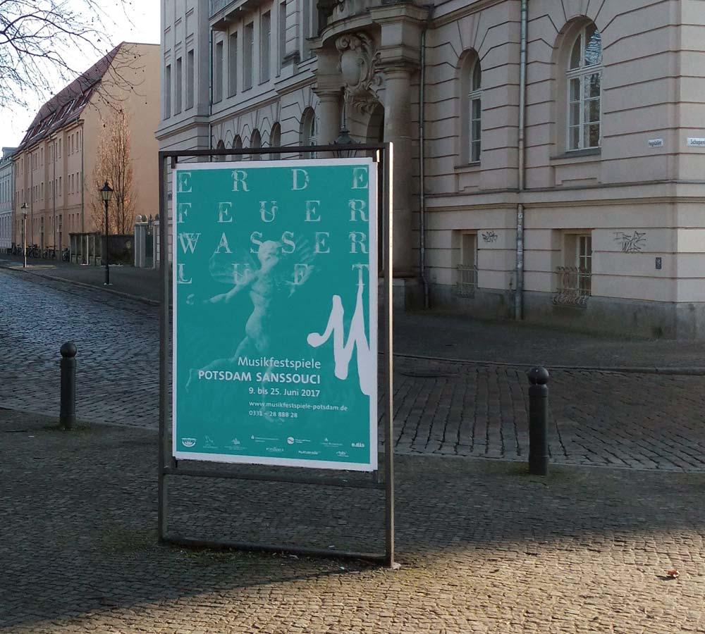 Musikfestspiele Potsdam Sanssouci Plakat Luft