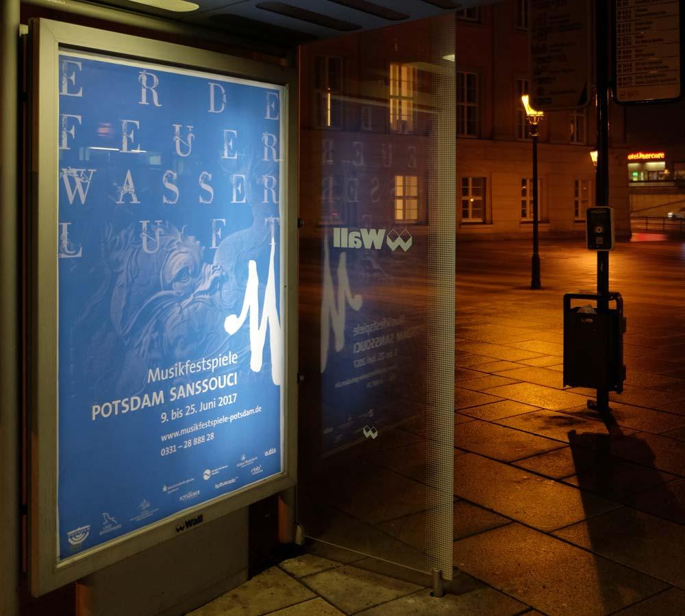 Musikfestspiele Potsdam Sanssouci Plakat Wasser