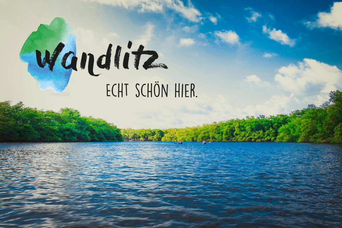 Logo und Slogan für die Gemeinde Wandlitz