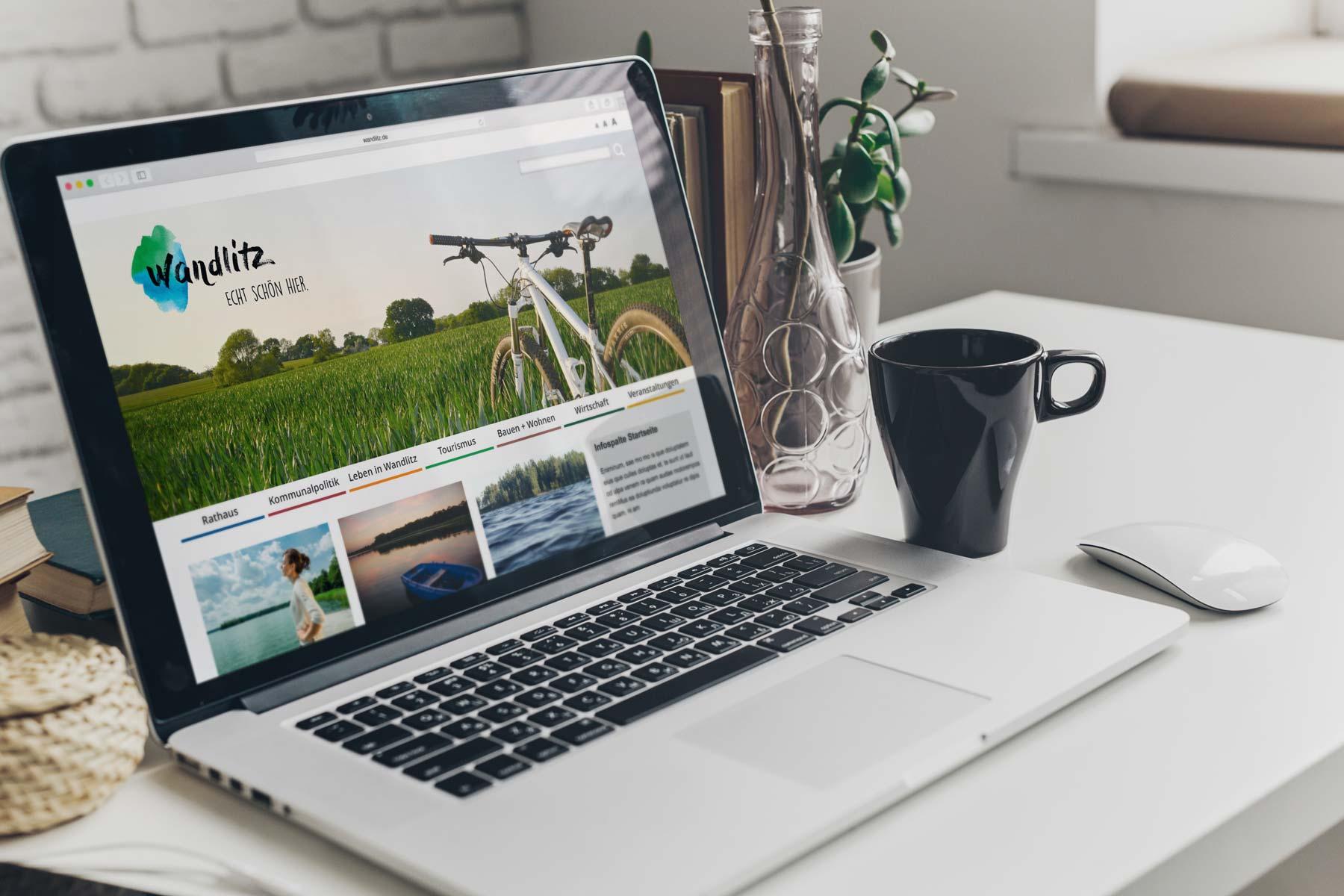 Designvorlage Webdesign