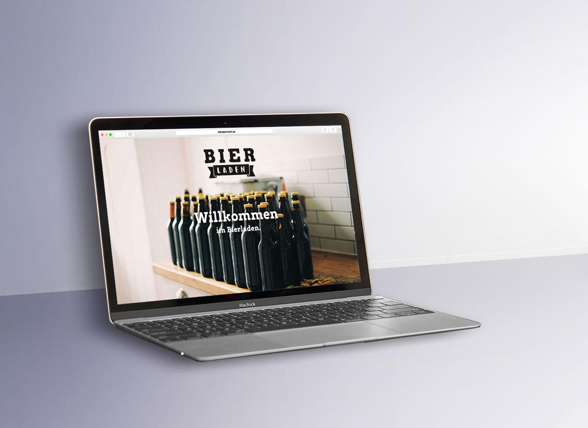 Website Bierladen