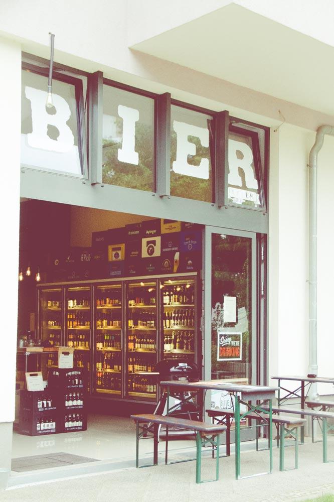 Bierladen Berlin Fassade
