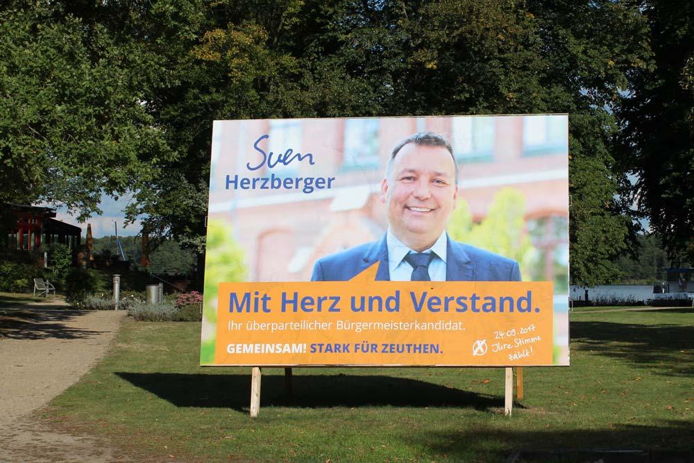 Wahlkampfkampagne Sven Herzberger Zeuthen