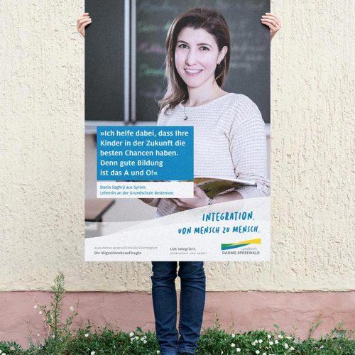 Plakatkampagne LDSintegriert